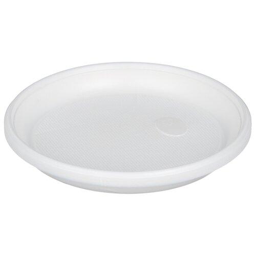 Celesta Тарелки одноразовые пластиковые 16,5 см (12 шт.) белый