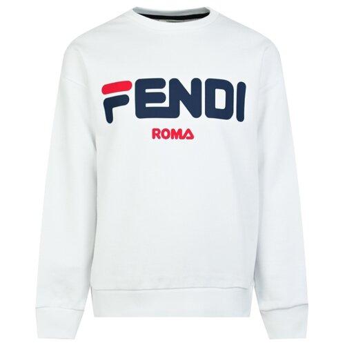 Свитшот FENDI размер 140, белый худи fendi размер 140 белый
