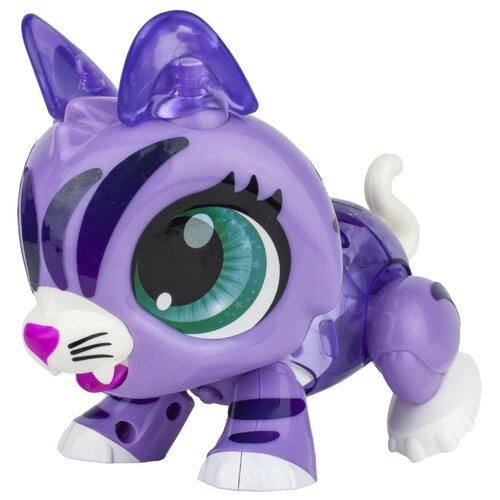 Купить Интерактивная игрушка робот 1 TOY Робо Лайф Котенок фиолетовый, Роботы и трансформеры