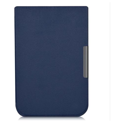 Чехол-книжка MyPads для PocketBook 631 Plus Touch HD 2 умный активный с функцией включения и блокировки экрана синий