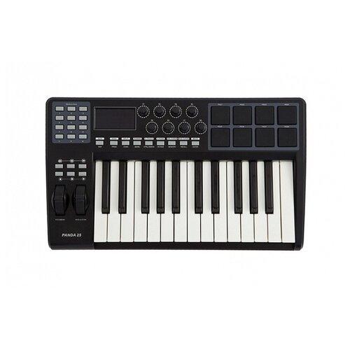 MIDI-клавиатура LAudio Panda 25C черный