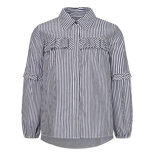 Рубашка Mayoral размер 128, темно-синий
