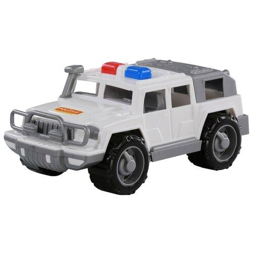 Купить Внедорожник Полесье Защитник патрульный в сетке (63595) белый, Машинки и техника