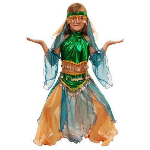Купить Костюм Elite CLASSIC Шахерезада, зеленый, размер 32 (128), Карнавальные костюмы