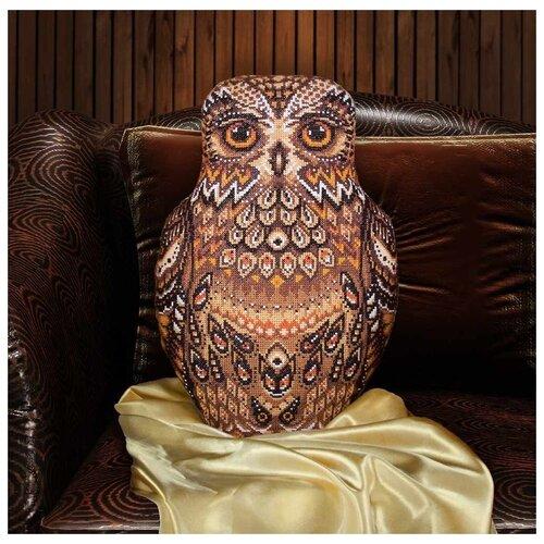 Купить PANNA Набор для вышивания Подушка Совушка 29 х 43 см (ПД-1489), Наборы для вышивания