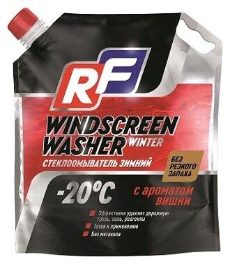 Жидкость для стеклоомывателя RUSEFF Windscreen washer winter, -20°C, 3.5 л