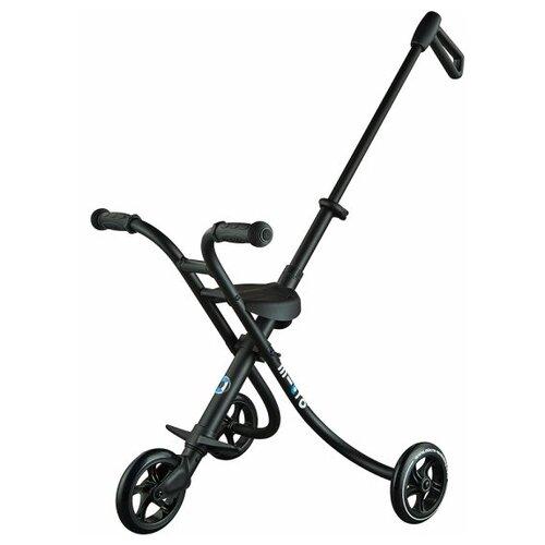 Городской самокат Micro Trike XL черный городской самокат micro trike xl аква