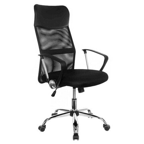 Компьютерное кресло College CLG-935 MXH офисное, обивка: текстиль/искусственная кожа, цвет: черный компьютерное кресло college clg 619 mxh b офисное обивка текстиль цвет бежевый