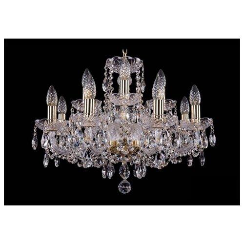 Люстра Bohemia Ivele Crystal 1402 1402/8+4/195/G, E14, 480 Вт люстра bohemia ivele crystal 1716 8 8 4 265b gb