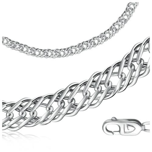 Бронницкий Ювелир Цепь из серебра 311003701, 55 см, 34.3 г