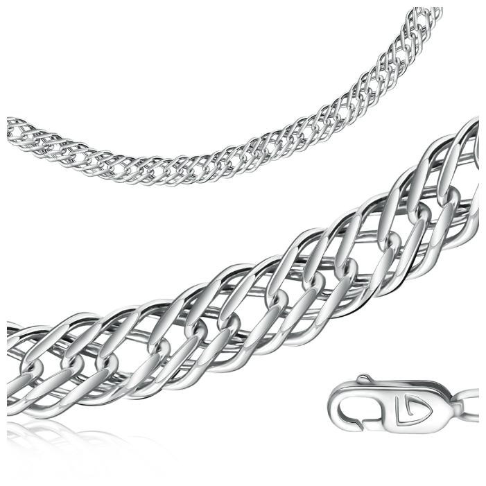 Бронницкий Ювелир Цепь из серебра 346-257, 55 см, 60.88 г