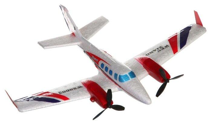 Самолет Shantou Gepai WX9003 39 см белый фото 1