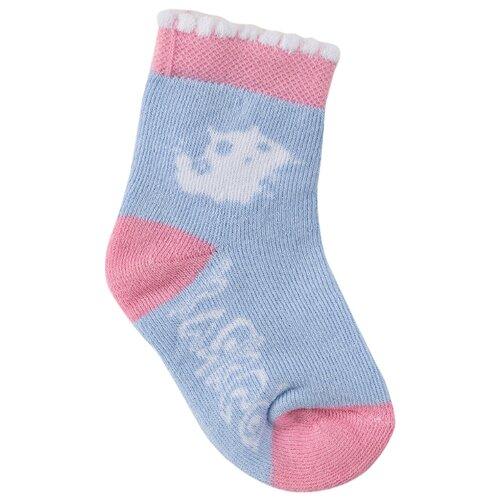 Носки Клякса размер 10, голубой комплект одежды клякса размер 68 голубой