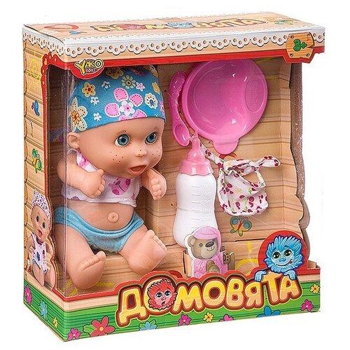 Купить Пупс Yako Домовята в бандане, 22 см, M7579-3, Куклы и пупсы