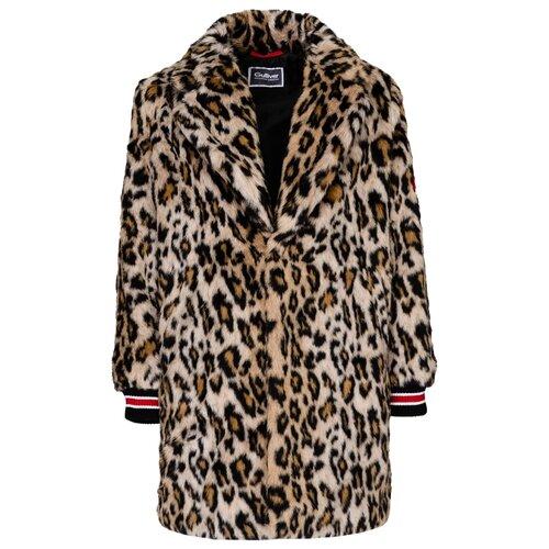 Пальто Gulliver 21908GJC4507 размер 170, леопардовый
