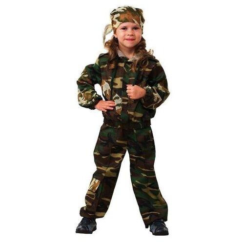 Купить Костюм Батик Спецназ (5701), зеленый, размер 146, Карнавальные костюмы
