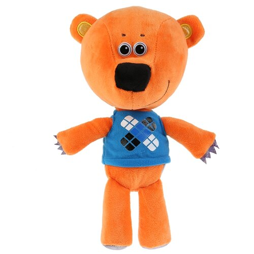 Мягкая игрушка Мульти-Пульти Ми-ми-мишки Медвежонок Кеша без чипа 20 см в пакете мягкая игрушка мульти пульти попугай кеша 18 см