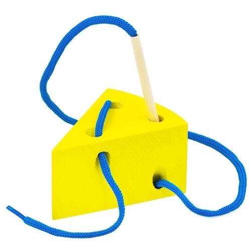 Купить Шнуровка Alatoys Сыр (ШБ10) желтый, Шнуровки