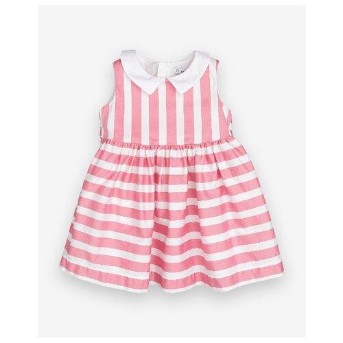 Купить Платье Gulliver Baby размер 86, розовый, Платья и юбки