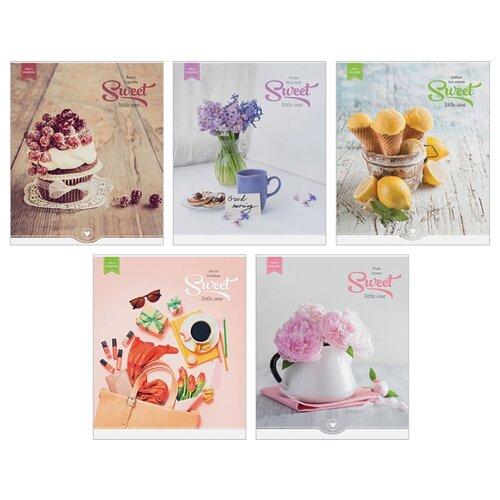 Купить ArtSpace Упаковка тетрадей Стиль. Girl's passion Т48к_7742, 10 шт./5 дизайнов, клетка, 48 л., Тетради