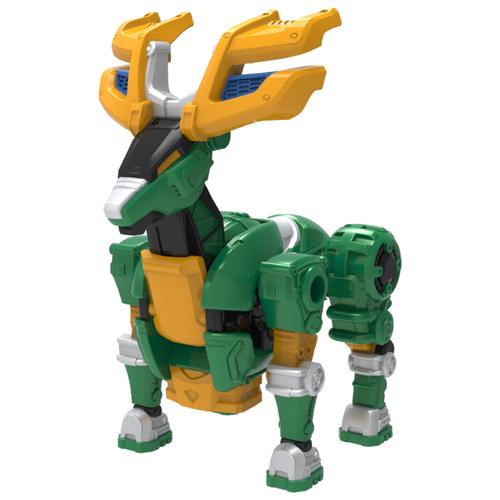 Купить Трансформер YOUNG TOYS Metalions Giantelk Mini зеленый/желтый, Роботы и трансформеры