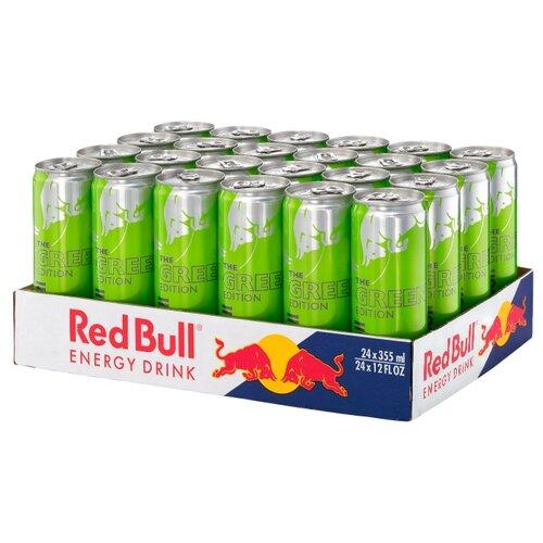 Энергетический напиток Red Bull Green edition, 0.355 л, 24 шт. drive me энергетический напиток 0 5 л