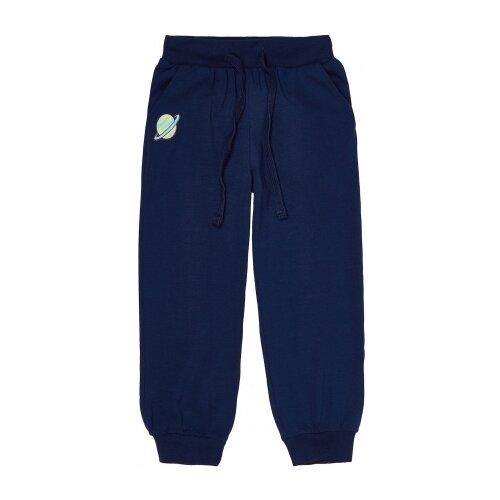Брюки Kogankids размер 152, темно-синий btc брюки для девочки btc темно синий 152 76 66