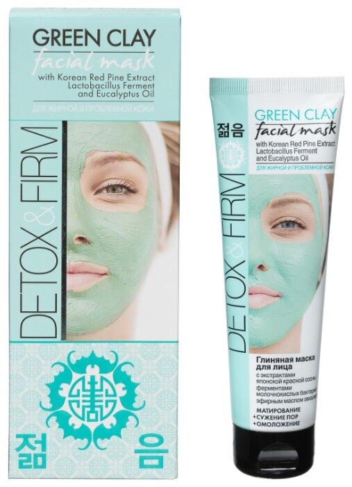 Beauty Body Detox & Firm глиняная маска с экстрактом японской красной сосны