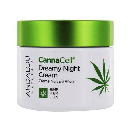 Andalou Naturals CannaCell Dreamy Night Cream Крем для лица ночной, 50 г