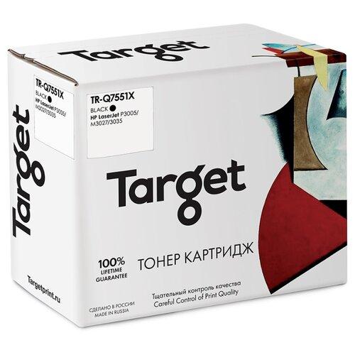 Фото - Картридж Target TR-Q7551X, совместимый картридж target tr cf214x совместимый