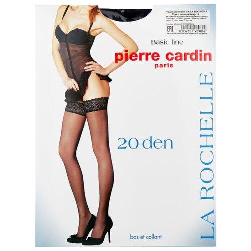 Чулки Pierre Cardin La Rochelle, Basic Line 20 den, размер IV-L, nero (черный) чулки pierre cardin la rochelle basic line 20 den размер iv l nero