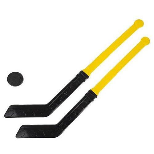 Хоккейный набор Совтехстром (У886) желтый/черный