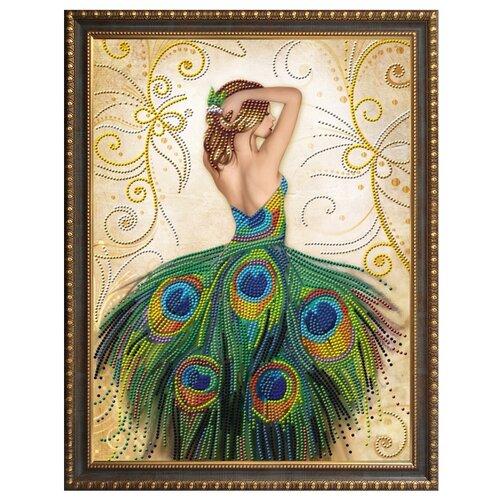 Купить Алмазная живопись Набор алмазной вышивки Волшебное платье (АЖ-3018) 40х50 см, Алмазная вышивка