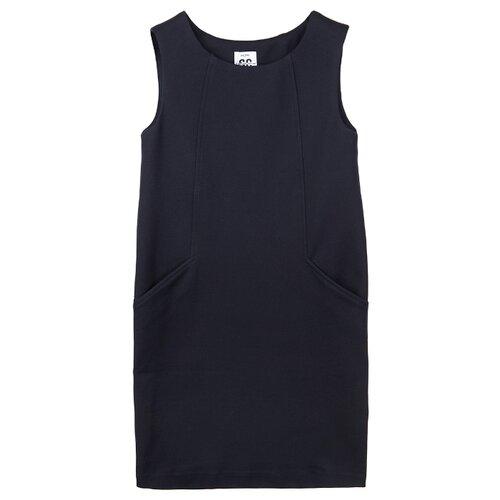 Сарафан playToday размер 122, темно-синий, Платья и сарафаны  - купить со скидкой