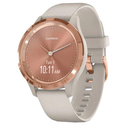 Часы Garmin Vivomove 3S песочный/розовое золото умные часы garmin vivomove 3 черные с черным силиконовым ремешком