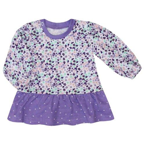 Платье KotMarKot размер 74, фиолетовый