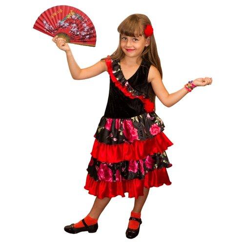 Купить Костюм Elite CLASSIC Испанка, красный, размер 34 (134), Карнавальные костюмы