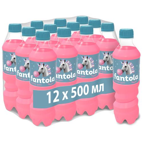 Газированный напиток Fantola Bubble Gum, 0.5 л, 12 шт.