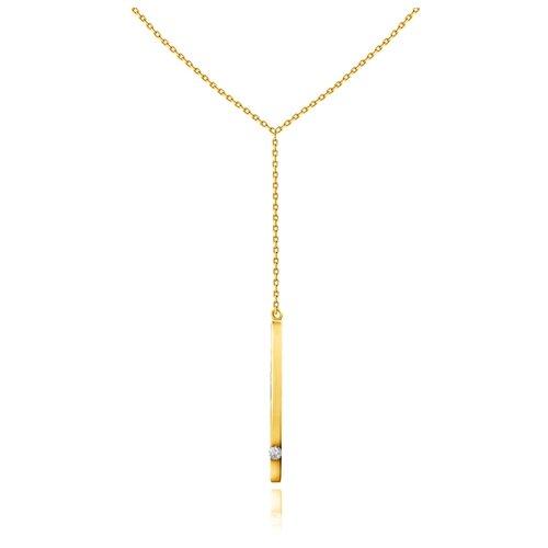 Бронницкий Ювелир Колье из желтого золота 54319559, 45 см, 2.98 г бронницкий ювелир колье из желтого золота 54319559 45 см 2 98 г
