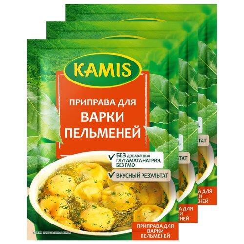 Фото - KAMIS Приправа Для варки пельменей, 3х20 г kamis приправа тосканский лосось 4х18 г