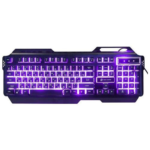 Клавиатура с подсветкой игровая Dialog KGK-25U Gan-Kata (черная)