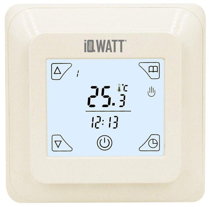 Купить Терморегулятор IQWATT Thermostat TS слоновая кость по низкой цене с доставкой из Яндекс.Маркета (бывший Беру)