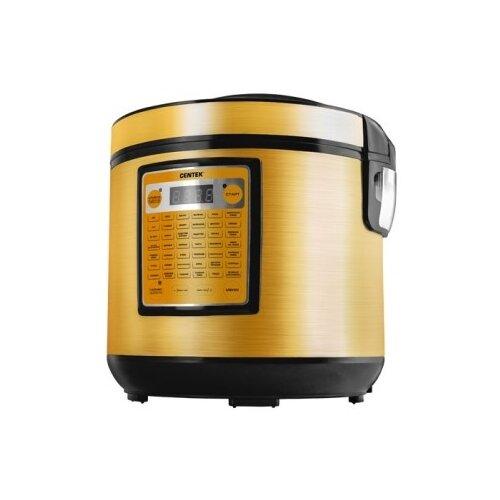 Мультиварка CENTEK CT-1495 BLACK CERAMIC 5 л оранжево-черный