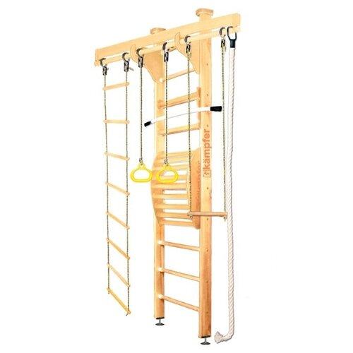 Купить Шведская стенка Kampfer Wooden Ladder Maxi Ceiling Стандарт натуральный, Игровые и спортивные комплексы и горки