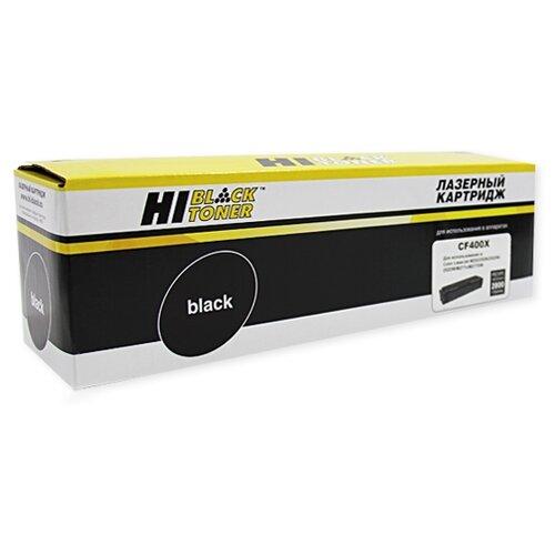 Фото - Картридж Hi-Black HB-CF400X, совместимый black orchid джинсовые брюки