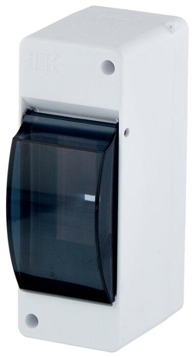 Щит распределительный встраиваемый IEK ЩРВ-П-24 IP41 пластиковый прозрачная дверь (MKP12-V-24-40-10)