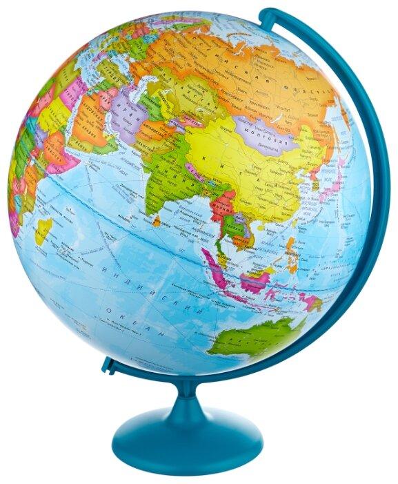 Глобус политический Глобусный мир, 42см, на круглой подставке (арт. 217212)