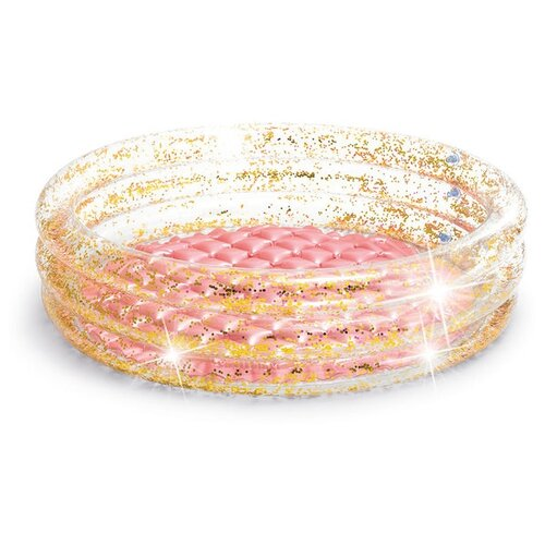 Детский бассейн Intex Glitter 57103 86х25см розовый воблер jackson dead float 105f ayu 57103