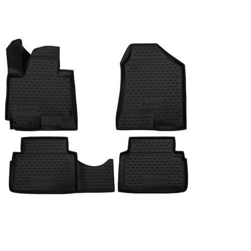 Комплект ковриков ELEMENT 3D10502210 для JAC S5 4 шт. черный