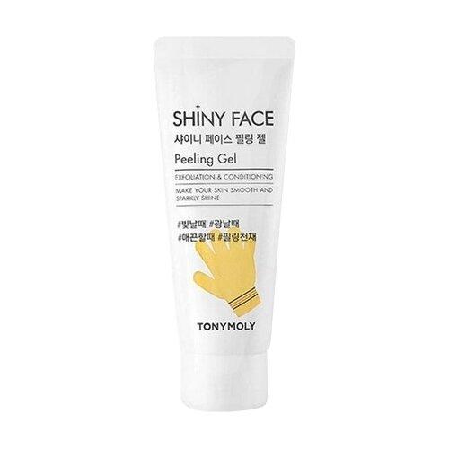 TONY MOLY пилинг-гель для лица Shiny Face Peeling Gel 80 мл маска для лица tony moly tony moly to047lwoki02